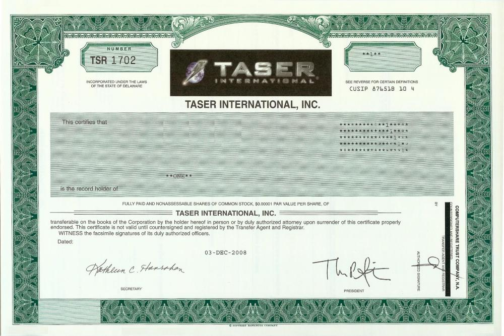 share certificate template companies house - taser international stock certificate
