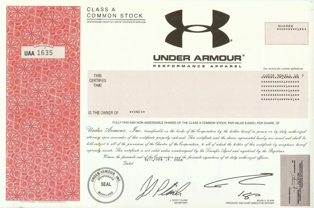 Under Armour - Company Profile 8ffa682c4