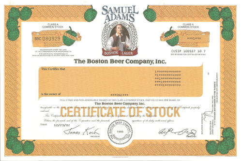 beer companies annual report Updated annual income statement for boston beer co cl a - including sam income, sales & revenue, operating expenses, ebitda and more.