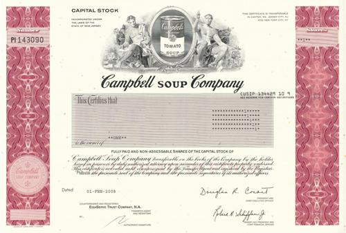 a profile overview of campbell soup company csc