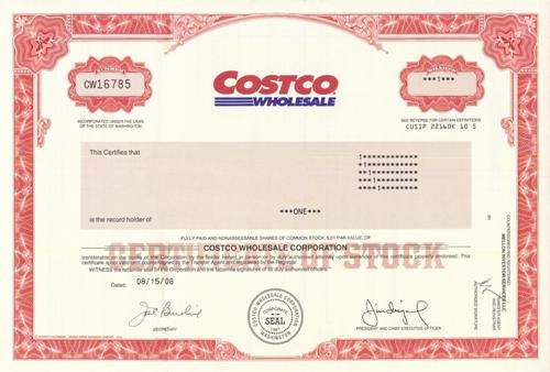 a profile of the company costco wholesale Add new profile costco wholesale corporation costco became the first company ever to grow from zero to $3 billion in sales in less than six years.
