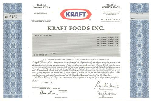kraft foods inc essay Kraft foods essays 3103 words | 13 pages billion, by kraft foods is anticipated to have yearly profits of over $50 billion swot analysis kraft foods group, inc is a well-known brand image through out north america and other parts of the globe strengths kraft foods has an international existence.