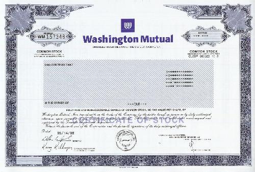 Washington Mutual Company Profile